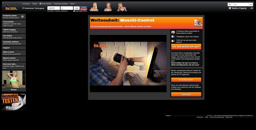 Muschi-Control Livestrip.com